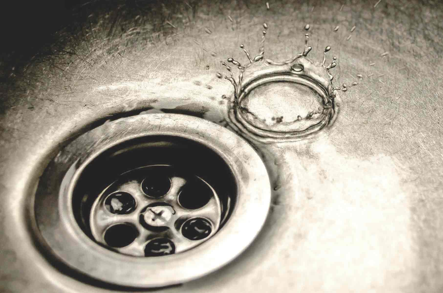 drain sink image for drain cleaning services page